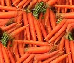 Orange Colored Vegetables